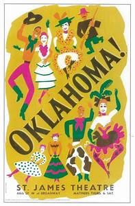 Oklahoma! (Broadway) Movie Posters From Movie Poster Shop