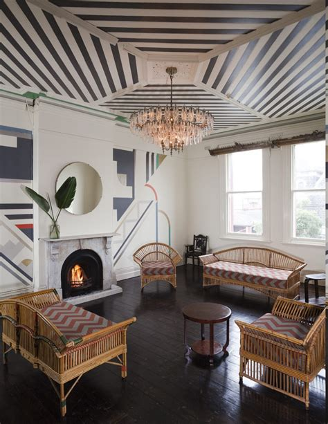 home  charming art deco interiors camer design