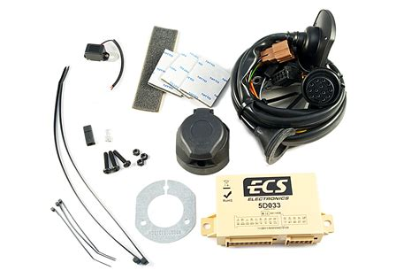 nissan genuine 13 pin electrical kit wiring for tow bar