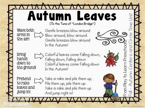 62 best fall songs images on classroom ideas 366   aaa5ba5ad77f344af32dde5ef94377a2 songs for preschoolers preschool songs
