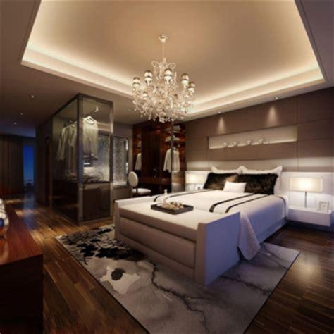 modern  stylish master bedroom  model  model