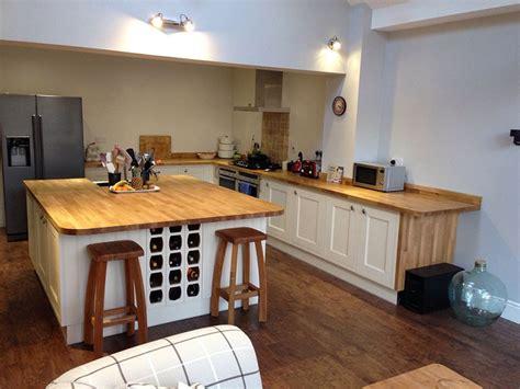 worktop for kitchen island prime oak worktop gallery 1656