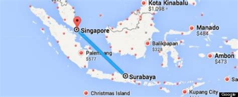 airasia flight  indonesia  singapore loses contact