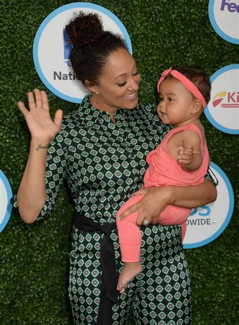 tamera mowry at the safe kids day in los angeles donut