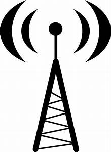 Antena Or Hotspot Clip Art At Clker Com
