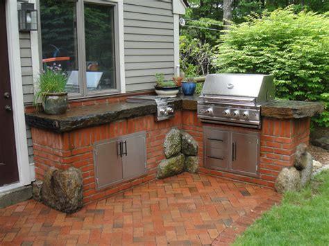 brick outdoor kitchen best red brick outdoor patio furniture поиск в google back yard pinterest bricks