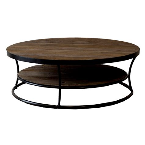 round wood coffee table milan reclaimed wood round coffee table buy wooden