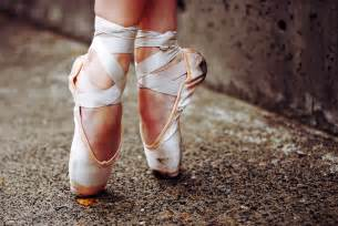 Ballet Pointe Shoes Photography