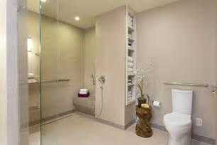 handicap accessible bathroom designs baby boomer wheelchair accessible bathroom in austinuniversal design style