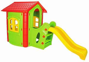 Spiele Für Kleinkinder Drinnen : spielhaus kinderspielhaus mit rutsche xxl rot gr n f r drinnen und drau en gartenhaus kinderhaus ~ Frokenaadalensverden.com Haus und Dekorationen