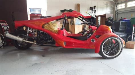 Veloss T-rex Campangna Style Reverse Trike, 2012 With