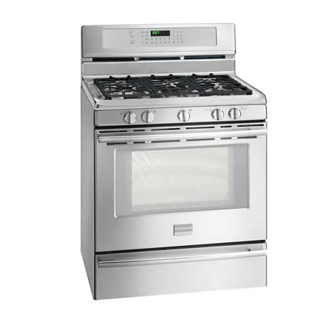shop frigidaire professional 5 burner freestanding 5 cu self cleaning convection gas range