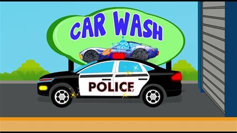 police car wash kids playlist   kids