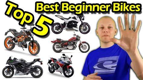 Types Of Motorcycles For Beginners