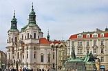Prague - St Nicholas Church Old Town Square Photograph by ...