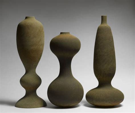 monolithic ceramics vessels  turi heisselberg pedersen oen