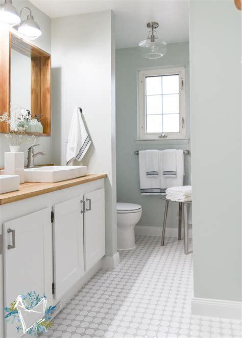 farmhouse bathroom floor these tips for renovating a bathroom will save you Modern