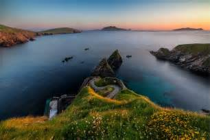 gift basket sunset of dunquin bryan landscape photography
