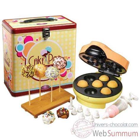 boite deco cuisine simeo appareil à cake pops boîte métal déco cuisine