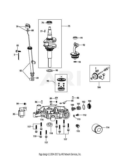 Mtd Phub Engine Parts Diagram For Crankshaft