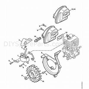 Stihl Br 200 Backpack Blower  Br 200  Parts Diagram  B