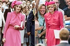 Emma Corrin Channels Princess Diana Shooting The Crown in Pink   PEOPLE.com