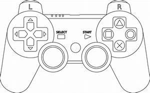 Controller Outline Clip Art At Clker Com