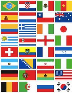 35 best World Cup Flags images on Pinterest | Brazil ...