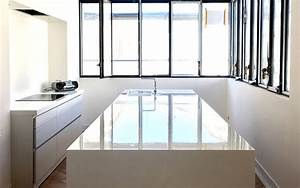 Corian Plan De Travail : r alisations corian par mb design atelier corian bordeaux mb design ~ Mglfilm.com Idées de Décoration