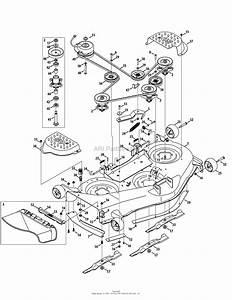34 Craftsman Mower Deck Diagram
