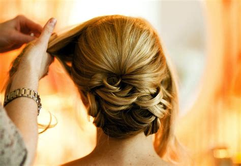 Low Updo Hairstyles by Sleek Wedding Hairstyle Low Updo Onewed
