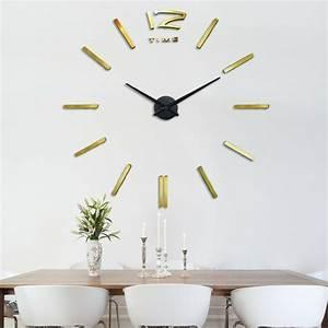 Horloge Moderne Murale : 45 id es pour le plus cool horloge g ante murale ~ Teatrodelosmanantiales.com Idées de Décoration