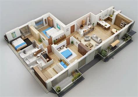 denah rumah mewah  kamar  nyaman