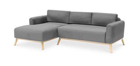 canapé casa divano chaise longue in stile scandinavo kevian divani