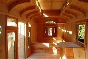 Bauwagen Innen Gestalten : interior photos of greg ryan 39 s gypsy wagon tiny houses pinterest gypsy wagon interior ~ Yasmunasinghe.com Haus und Dekorationen