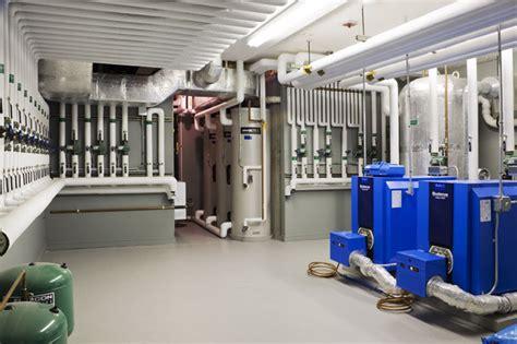 mechanical room basement boston  kvc builders