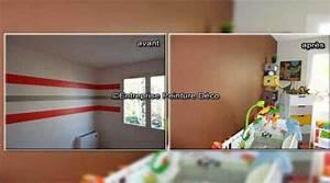 decoration murale chambre garon chambre deco chambre With nice couleur peinture mur 7 pochoir nuage pour deco murale