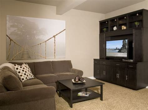 warm up your basement with balanced beige sw 7037 a warm neutral paint color welcoming