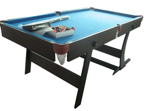 folding pool table 7ft wholesale indoor sport portable folding snooker table 6ft