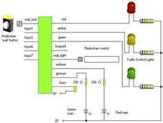Traffic Lights For Cars Railways Circuit