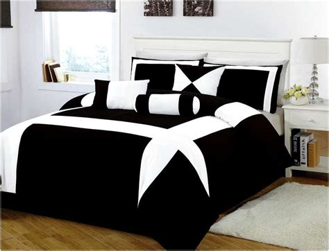 black and white king size bedding sets home design