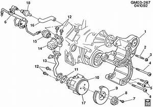10055800 - Gm Bracket  Air Injection Reactor Pump And Multi