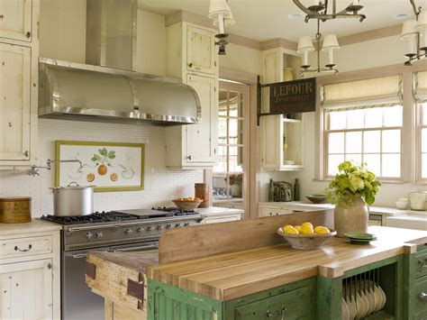 Cottage Style Kitchens Traditional Home