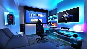 Gaming Zimmer Ideen : 21 interesting game room ideas de 2018 rooms pinterest portugu s quarto gamer e quartos ~ Markanthonyermac.com Haus und Dekorationen