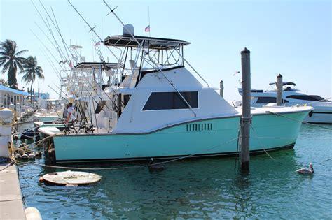 Motor Boat Rental Miami Beach by Rent A Hatteras Sportfishing Yacht 45 Motorboat In Miami