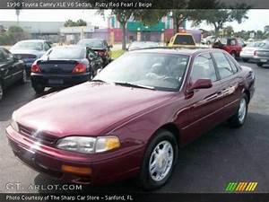 Ruby Red Pearl - 1996 Toyota Camry Xle V6 Sedan