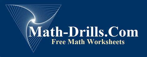 math drill worksheets   graders