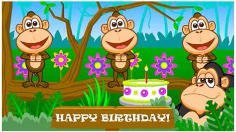 funky birthday monkeys  happy birthday ecards