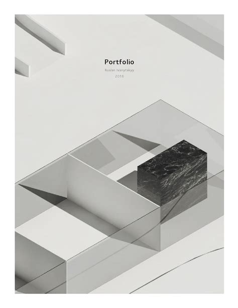 12772 architecture cover page design architecture portfolio 2016 by ruslan ivanytskyy issuu