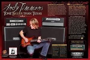 Andy Timmons U0026 39 S Mesa Boogie Stiletto Deuce Stage Ii